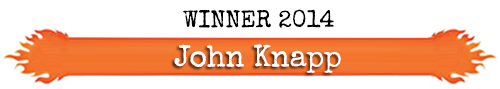 Winner - Ring O' Fire 2014 - John Knapp